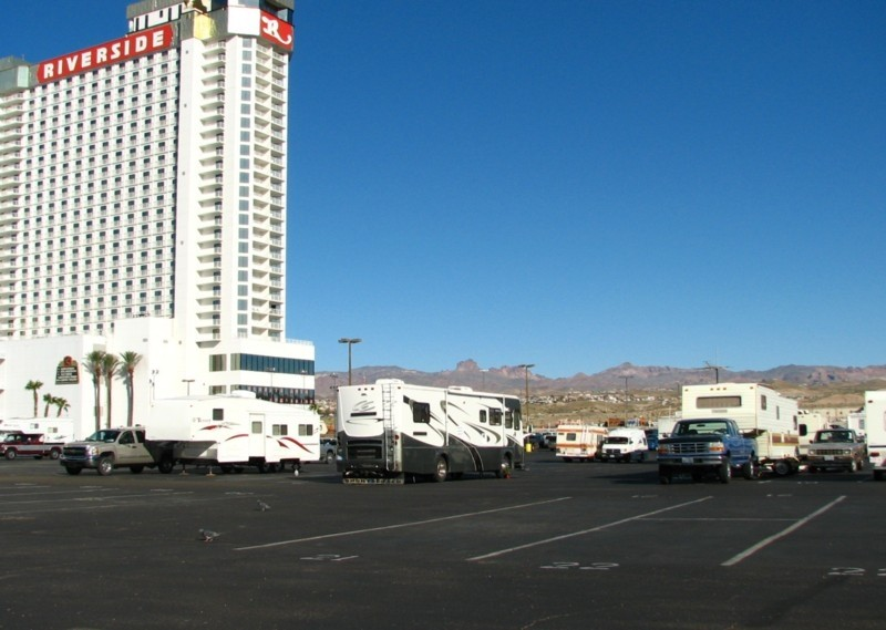 Casino Camper Riverside Resort Casino Overnight Rv