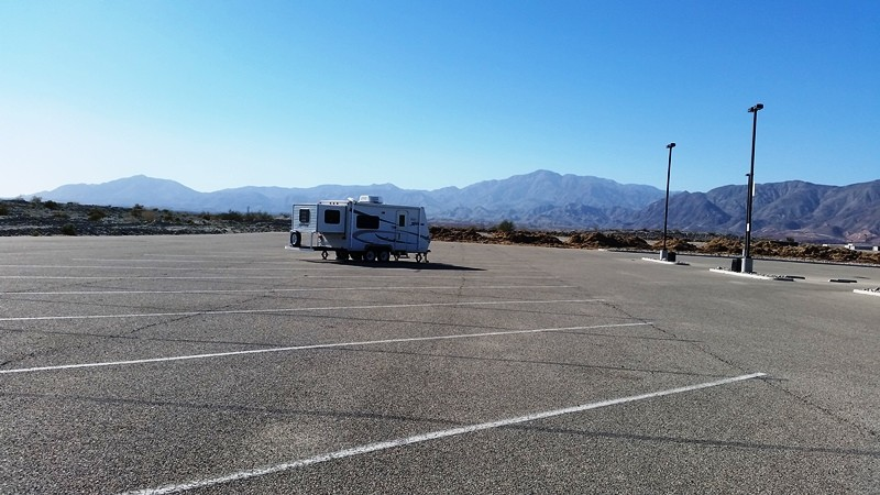 Casino Camper - Red Earth Casino Overnight RV Parking