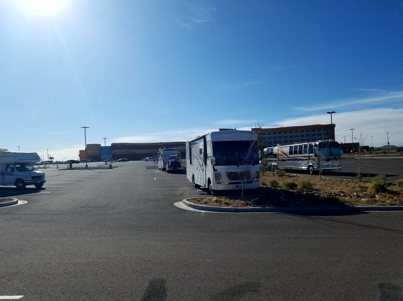 twin arrows casino truck parking